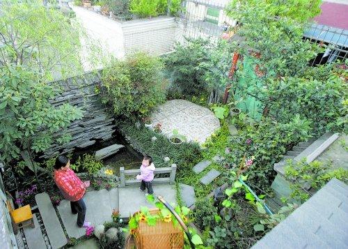 小阳台花坛设计图片