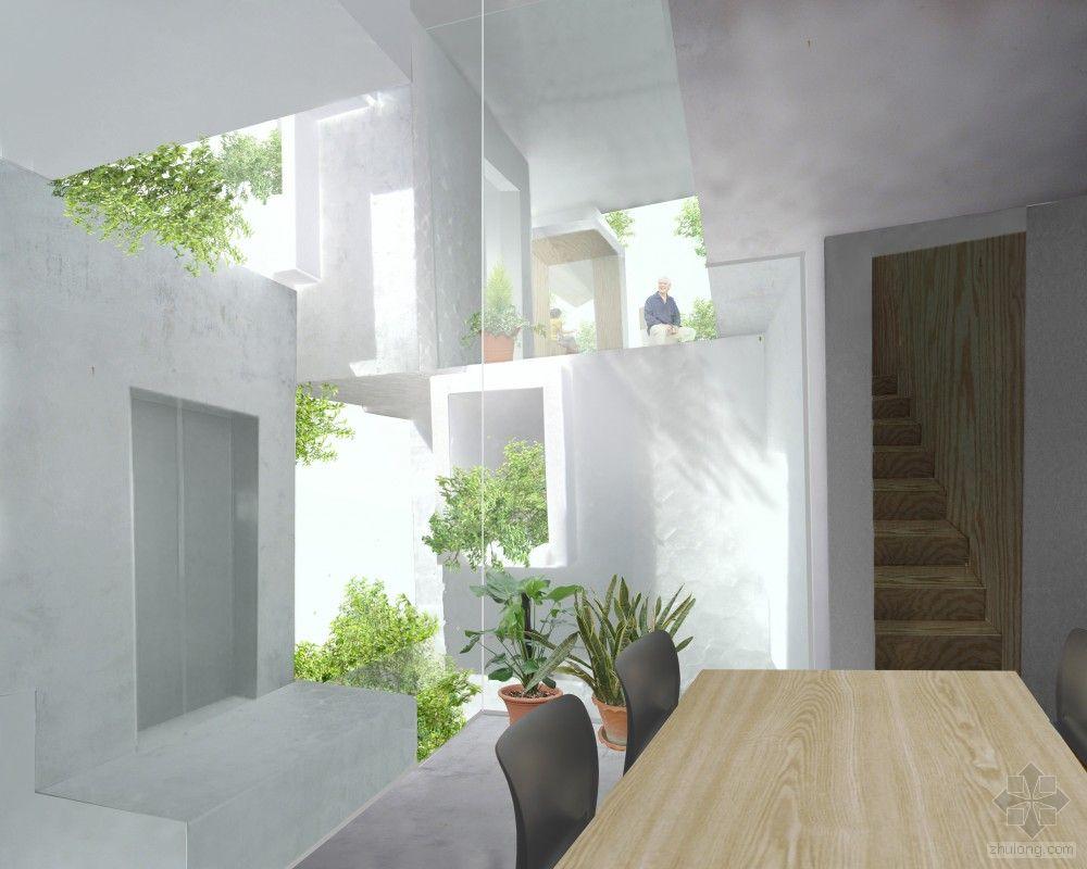 日本东京树型住宅 中国建筑绿化网