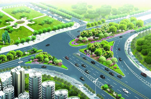 街头绿地_武汉将斥资138亿元打造立体绿化景观生态城_中国建筑绿化网