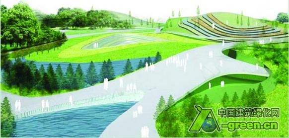 项目设计单位:美国W&R国际设计集团境外建筑设计公司 项目地址:西班牙马德里市 客户名称:马德里市市政厅 总用地面积:11公顷 设计时间:2009年 马德里市生态水公园用地是原港口的土地,公园的建成将成为西班牙滨水公园体系的一个重要补充,也将促进马德里滨水区域的整体复兴。 马德里生态水公园体量庞大,紧邻著名的大桥,面积约11公顷。总体规划重视城市肌理与水的结合,意图重新恢复活力的居住区、相对偏僻的区域、室外运动场和集中的文化活动区并将其结合在一起。