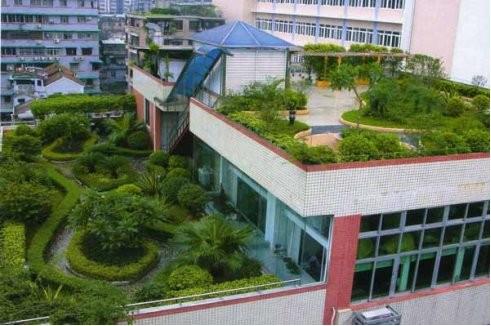 房顶花园设计效果图