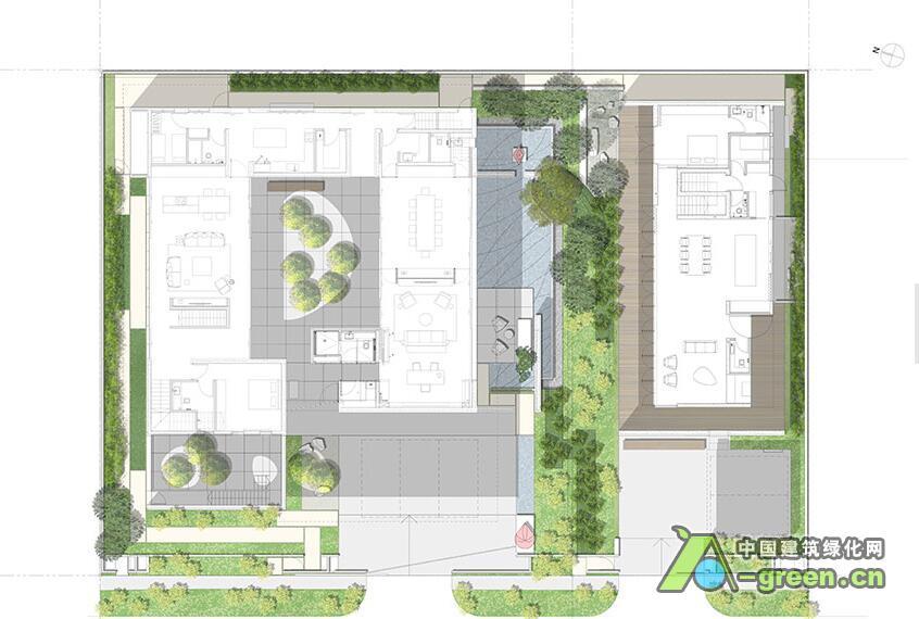 苗圃管理用房设计图展示