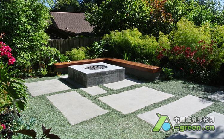 美国加利福尼亚州伯克利庭院景观设计